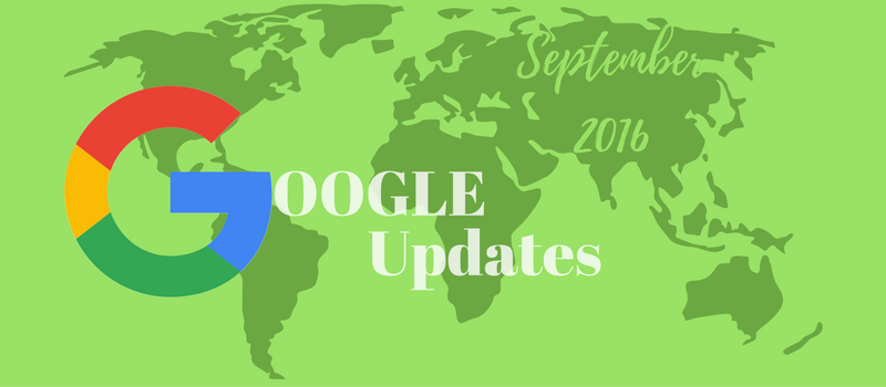 Cedar Software Technologies Blog - Google updates review September 2016