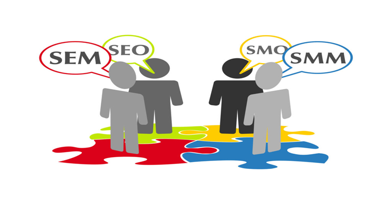 What is SEO, SEM, SMO and SMM in digital marketing?