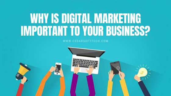 Why is Digital Marketing important to your business