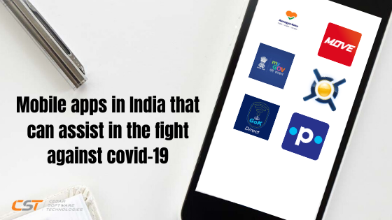 Mobile apps in India that can assist in the fight against Covid-19