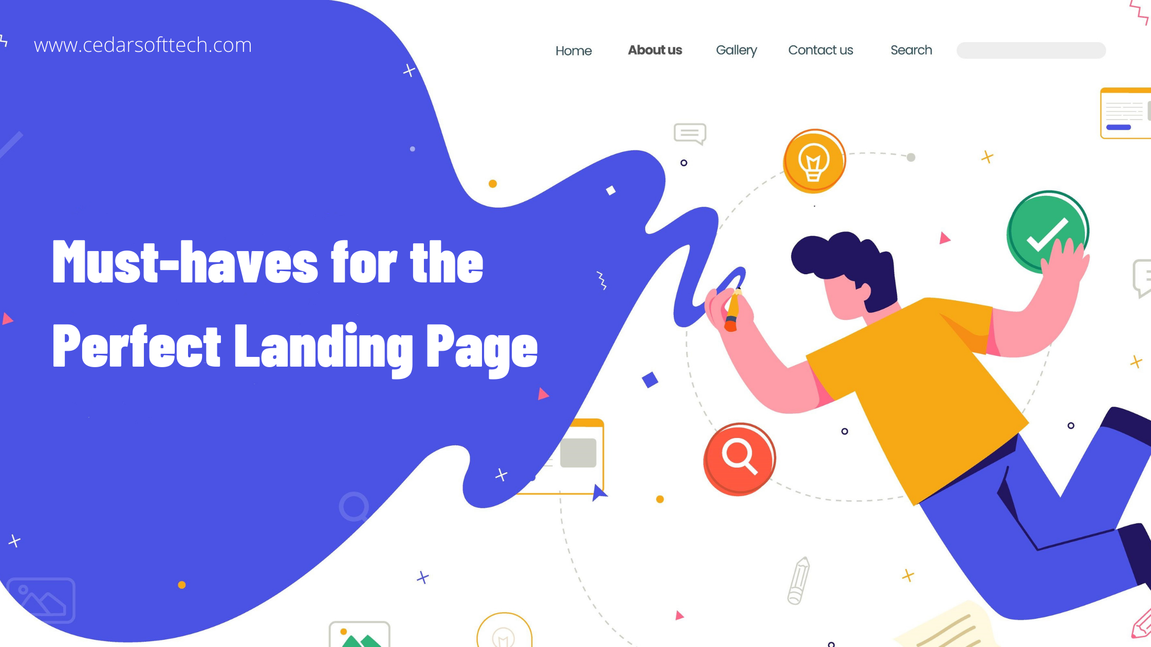 Must-haves for the Perfect Landing Page