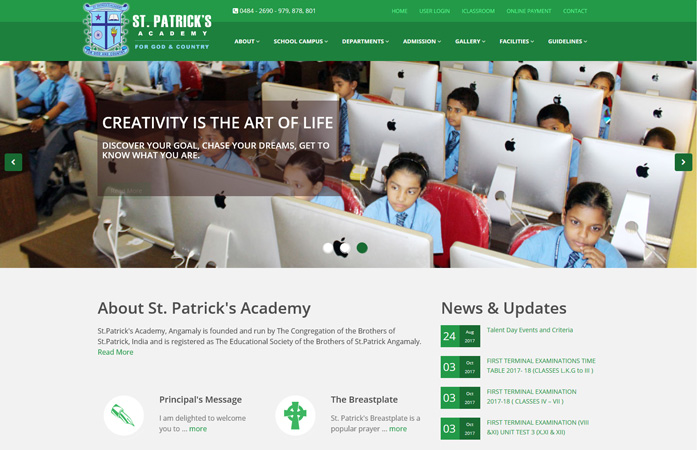 School Website & CMS